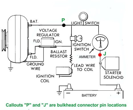 Mechanical on of light switch wiring diagram for 1963 chevy