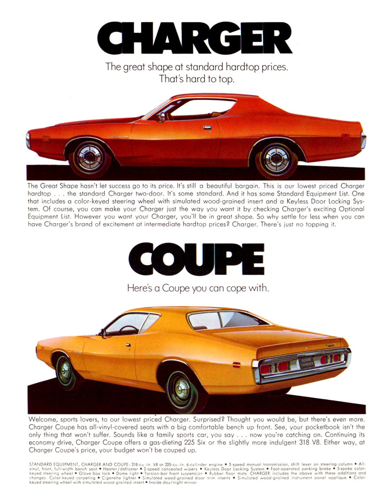 1971 Charger Specs Colors Facts History And