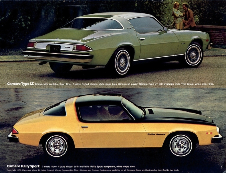 1976 Camaro Rs http://myclassicgarage.com/marketplace/knowledge_base/1976-chevrolet-camaro