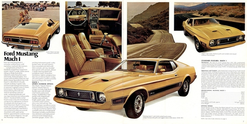 1973 Mustang Specs Colors Facts History And