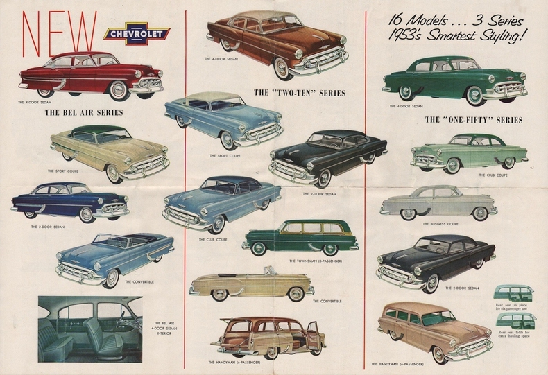 1953 Bel Air Specs Colors Facts History And
