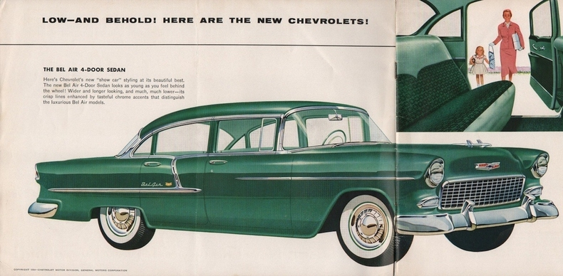 1955 Bel Air Specs Colors Facts History And