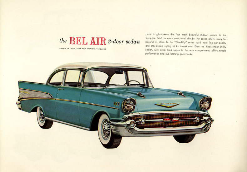 1957 Bel Air Specs Colors Facts History And