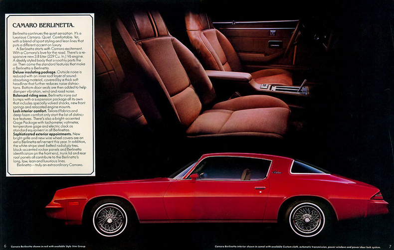 1980 Camaro Specs Colors Facts History And Performance