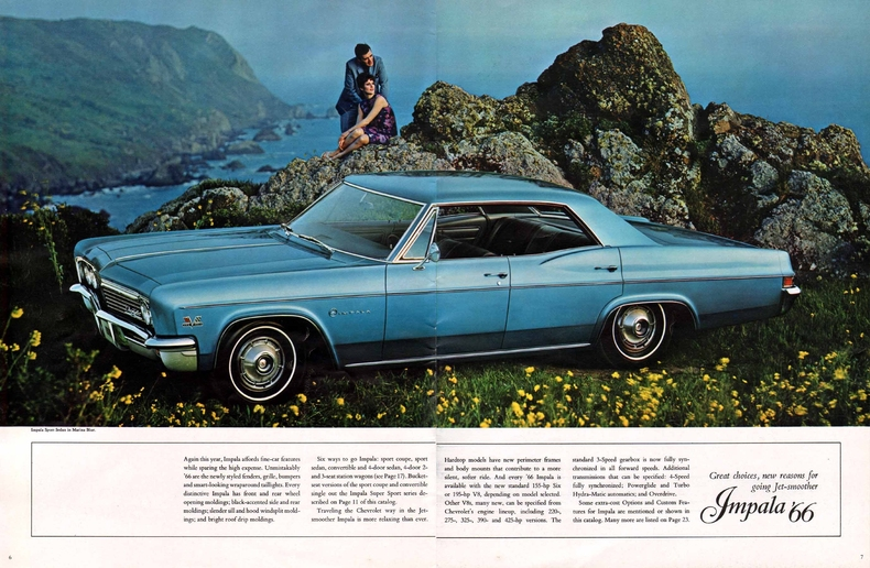 1966 Impala Specs Colors Facts History And Performance Classic Car Database