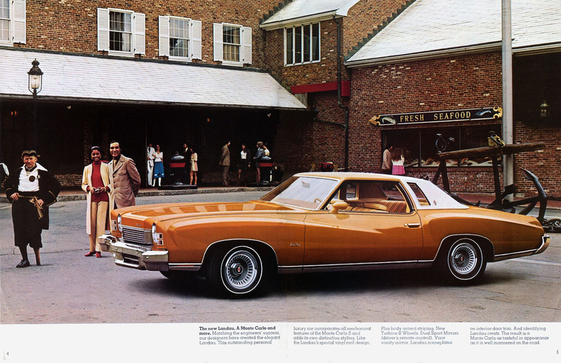 1973 Monte Carlo Specs Colors Facts History And