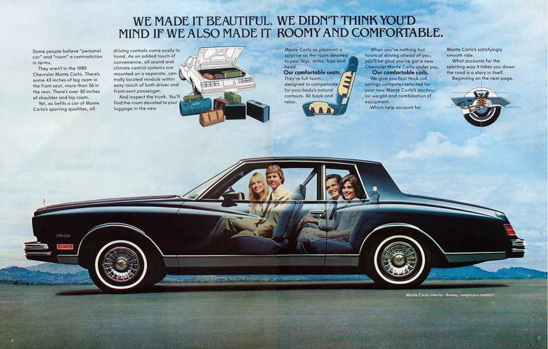 1980 Monte Carlo Specs Colors Facts History And Performance Classic Car Database