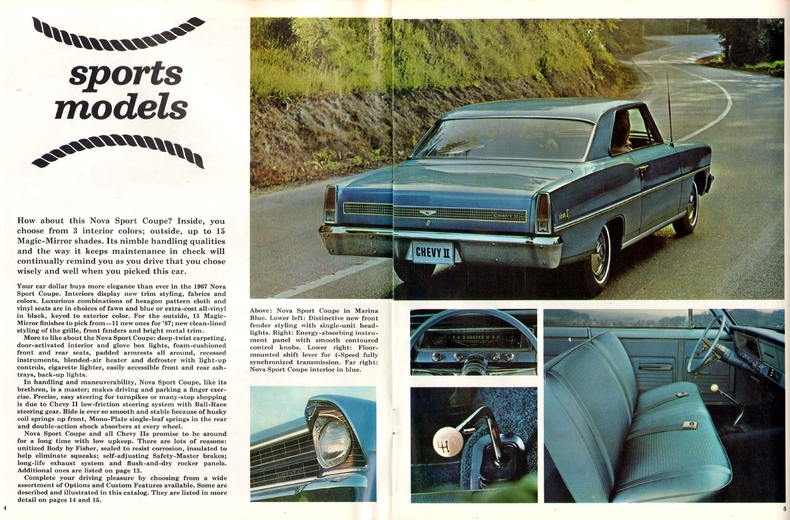1967 Nova Specs Colors Facts History And Performance Classic Car Database