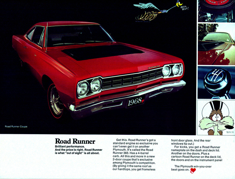 1968 Road Runner Specs Colors Facts History And