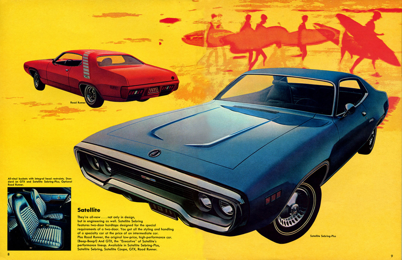 Road Runner Auto Sales >> 1971 Road Runner Specs, Colors, Facts, History, and Performance | Classic Car Database