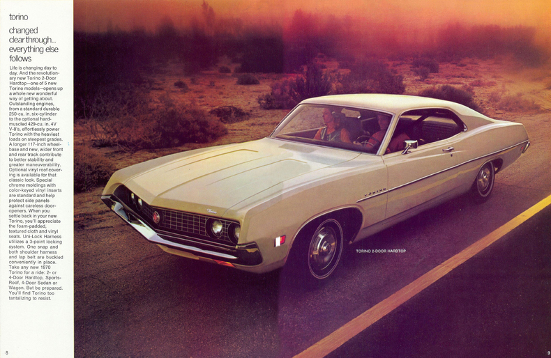 Car Garage For Sale >> 1970 Torino Specs, Colors, Facts, History, and Performance ...