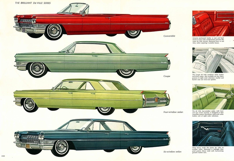 1964 Deville Specs Colors Facts History And