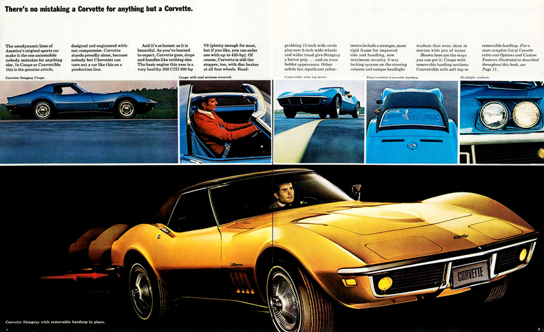 1969 Corvette Specs Colors Facts History And