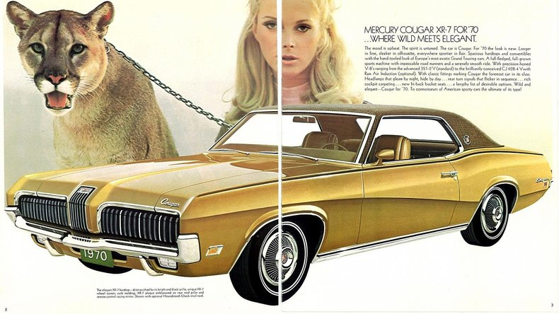 1970 Cougar Specs Colors Facts History And Performance