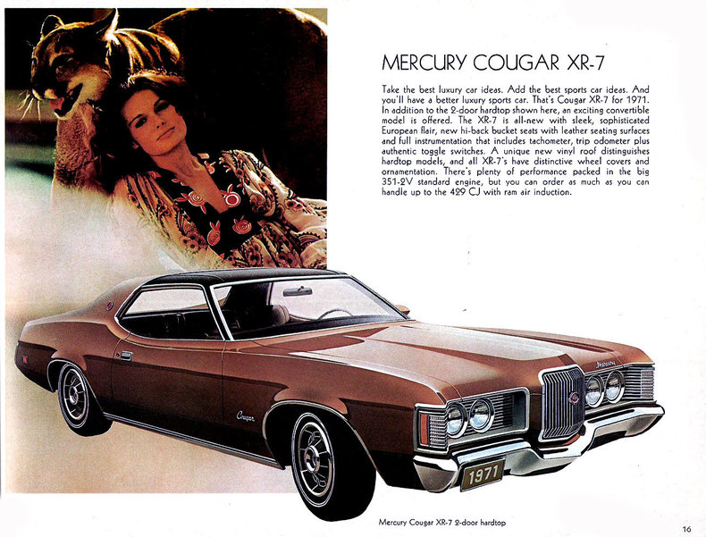 1971 Cougar Specs Colors Facts History And Performance