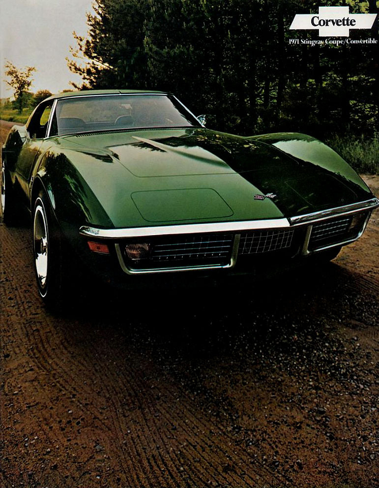 1971 Corvette Specs Colors Facts History And