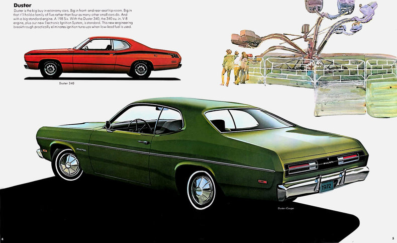 1972 Duster Specs Colors Facts History And Performance