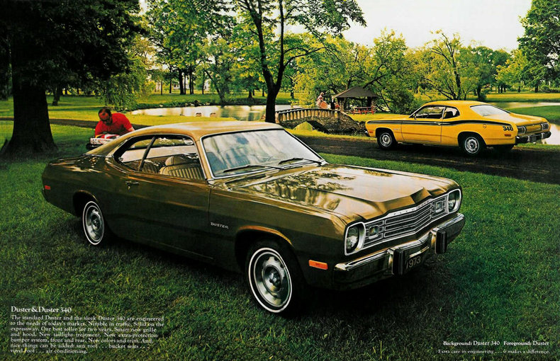 1973 duster specs colors facts history and performance classic car database. Black Bedroom Furniture Sets. Home Design Ideas