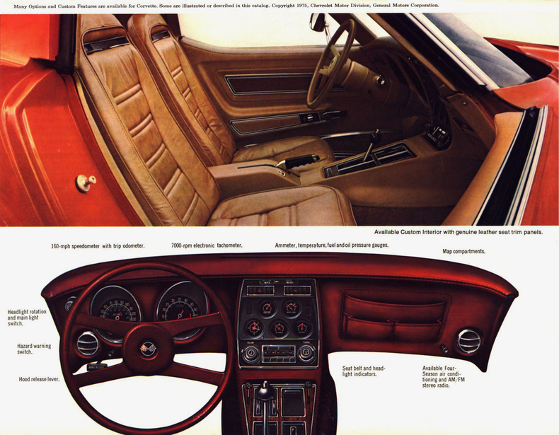 1976 corvette specs colors facts history and performance classic car database. Black Bedroom Furniture Sets. Home Design Ideas