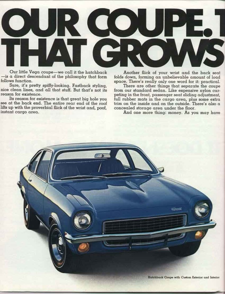 1970 Vega Specs Colors Facts History And Performance