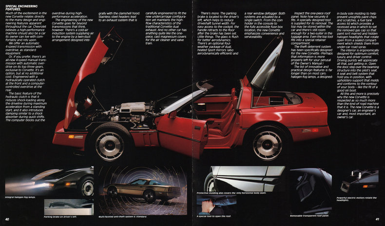 1984 Corvette Specs Colors Facts History And Performance Classic Car Database