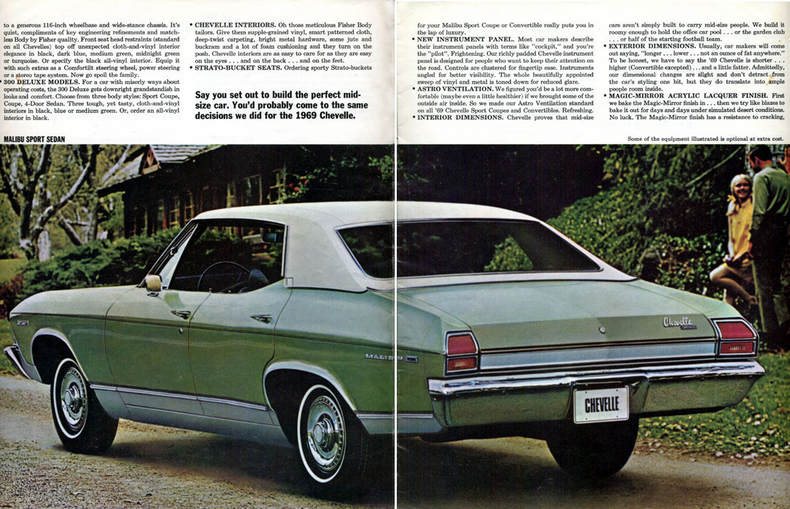 1969 Chevelle Specs Colors Facts History And