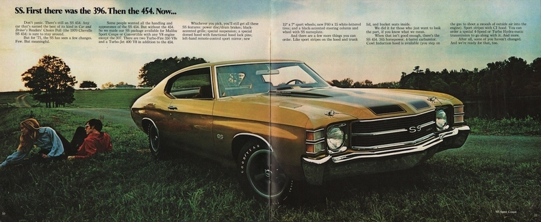 1971 Chevelle Specs Colors Facts History And Performance Classic Car Database