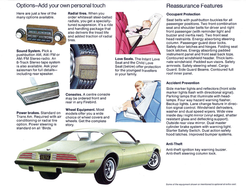 1974 Firebird Specs Colors Facts History And