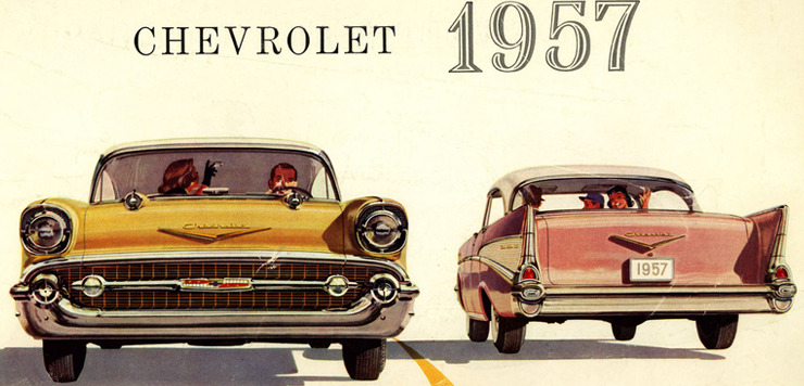 1955-1957 Chevrolet Bel Air