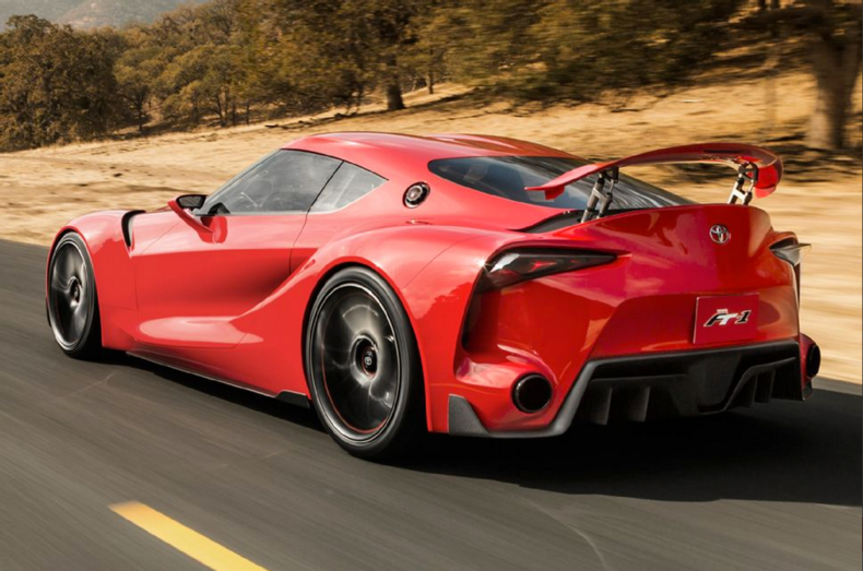 Exceptionnel Akiou0027s Assault Vehicle: Futuristic Sports Car Melds F1 Influences With Supra  Styling