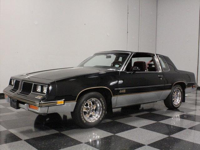 Black 1986 oldsmobile cutlass 442 for sale mcg marketplace for 1986 cutlass salon for sale
