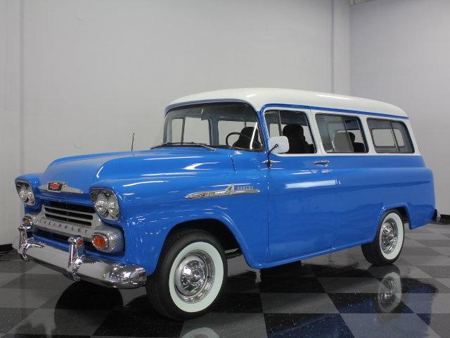 1958 Chevrolet Suburban Post Mcg Social