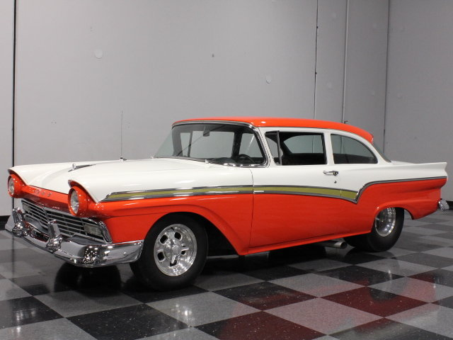 Red 1957 Ford Custom 300 For Sale Mcg Marketplace