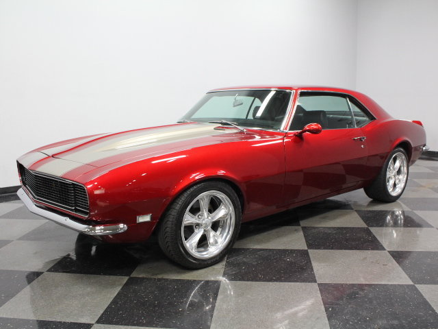 Candy Apple Red 1968 Chevrolet Camaro Rs Ss For Sale Mcg