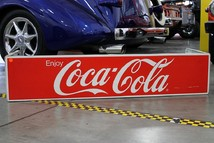 M99 Coca-Cola 3 sided sign