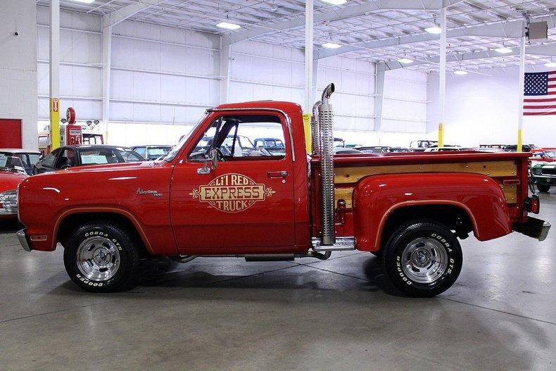 1978 Dodge Lil Red Express Post Mcg Social