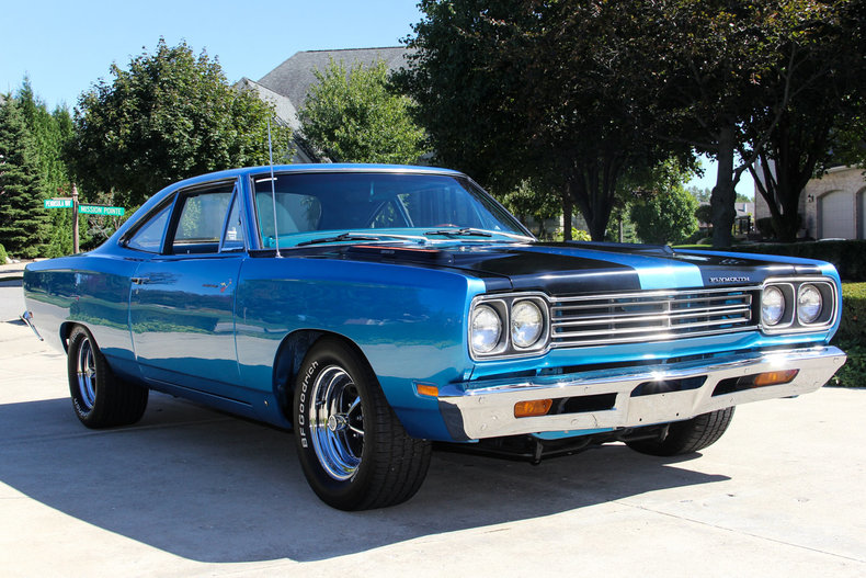 Blue 1969 Plymouth Road Runner For Sale Mcg Marketplace