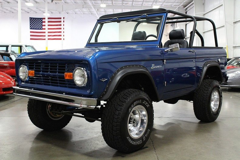 1968 ford bronco post mcg social myclassicgarage. Black Bedroom Furniture Sets. Home Design Ideas