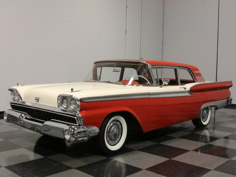1959 ford fairlane 500 post mcg social myclassicgarage for Garage ford 59