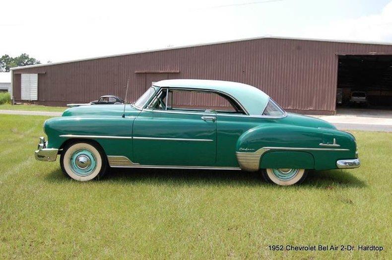 1952 Chevrolet Bel Air Post Mcg Social Myclassicgarage