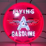 5GSFLY Flying A Gasoline Neon Sign