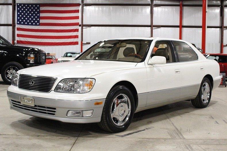 White 1999 Lexus Ls400 For Sale Mcg Marketplace
