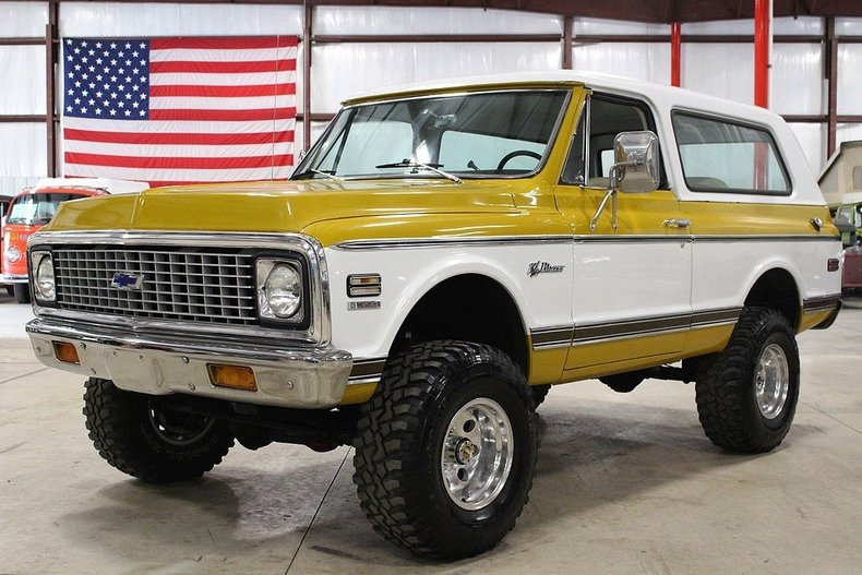 Yellow 1972 Chevrolet Blazer For Sale Mcg Marketplace