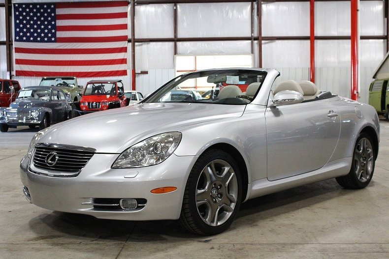 mercury metallic 2006 lexus sc430 for sale mcg marketplace. Black Bedroom Furniture Sets. Home Design Ideas