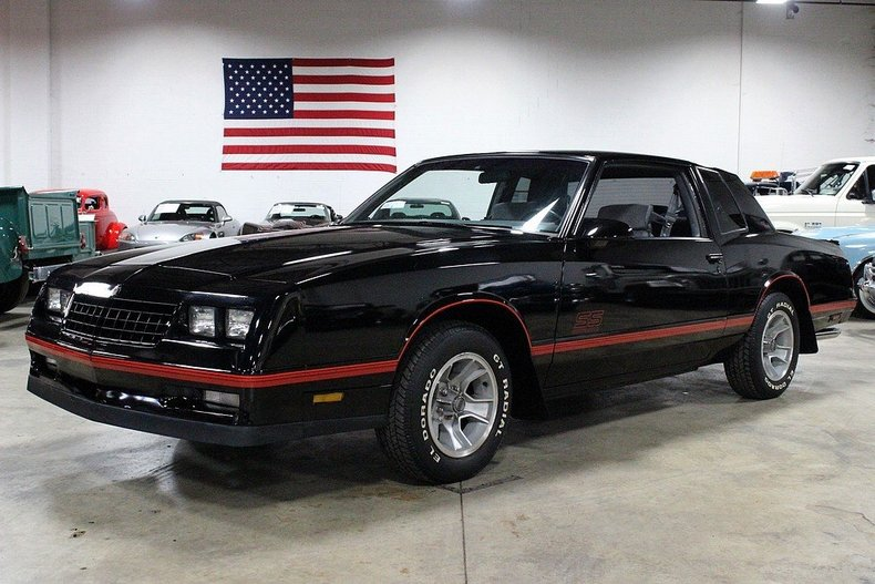 low miles 2007 monte carlo ss for sale autos post. Black Bedroom Furniture Sets. Home Design Ideas