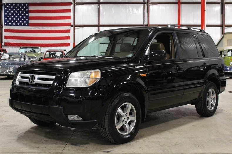 Black 2007 honda pilot for sale mcg marketplace for Black honda pilot
