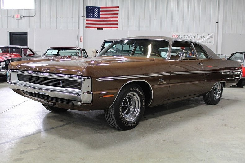 Brown 1970 Plymouth Fury For Sale