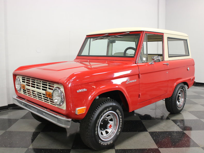 red 1969 ford bronco for sale mcg marketplace. Cars Review. Best American Auto & Cars Review