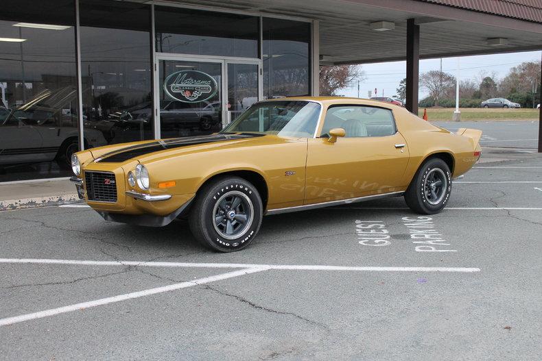 Gold 1972 Chevrolet Camaro For Sale Mcg Marketplace