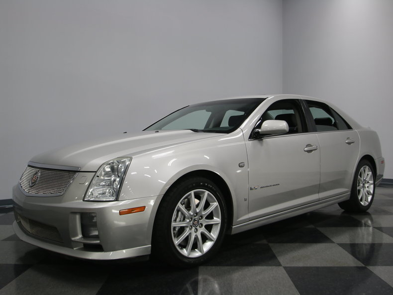 light platinum 2006 cadillac sts v for sale mcg marketplace. Black Bedroom Furniture Sets. Home Design Ideas